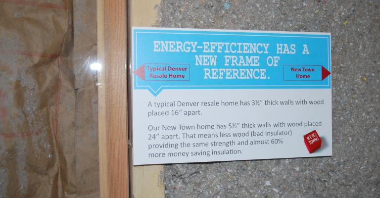 Thrive Home Builders energy efficient homes