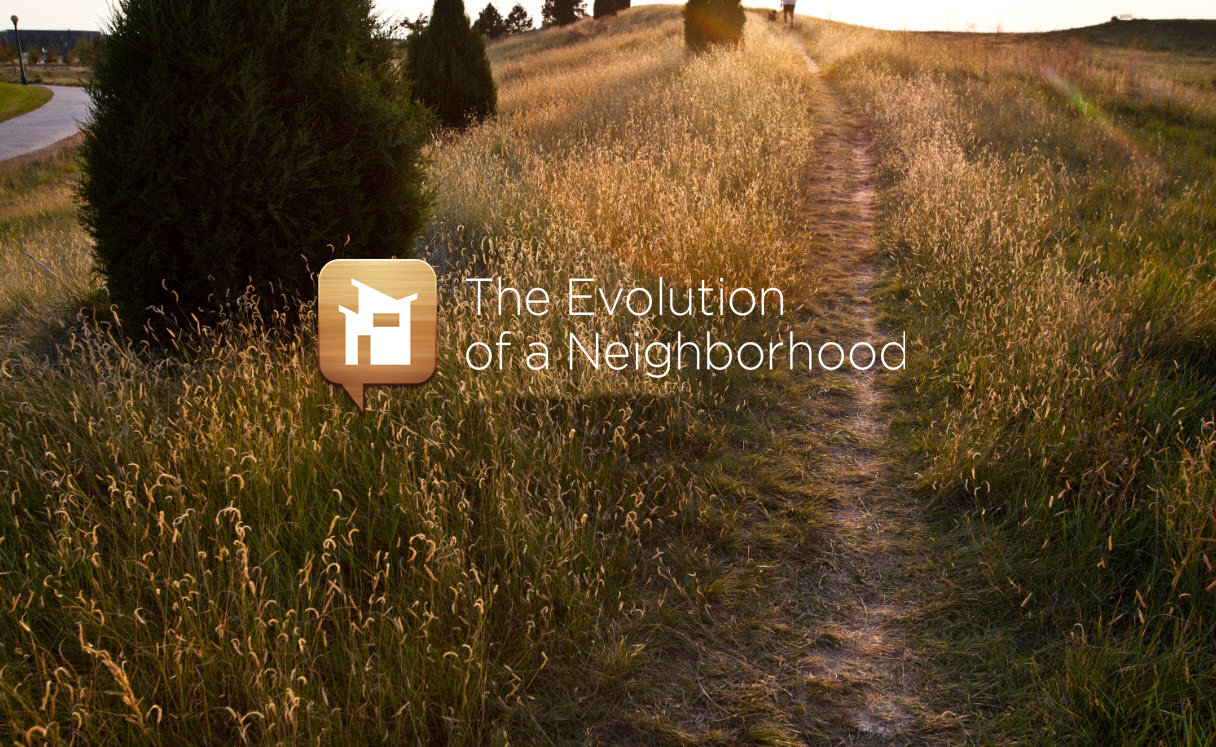 Staying in Stapleton Evolution of a Neighborhood