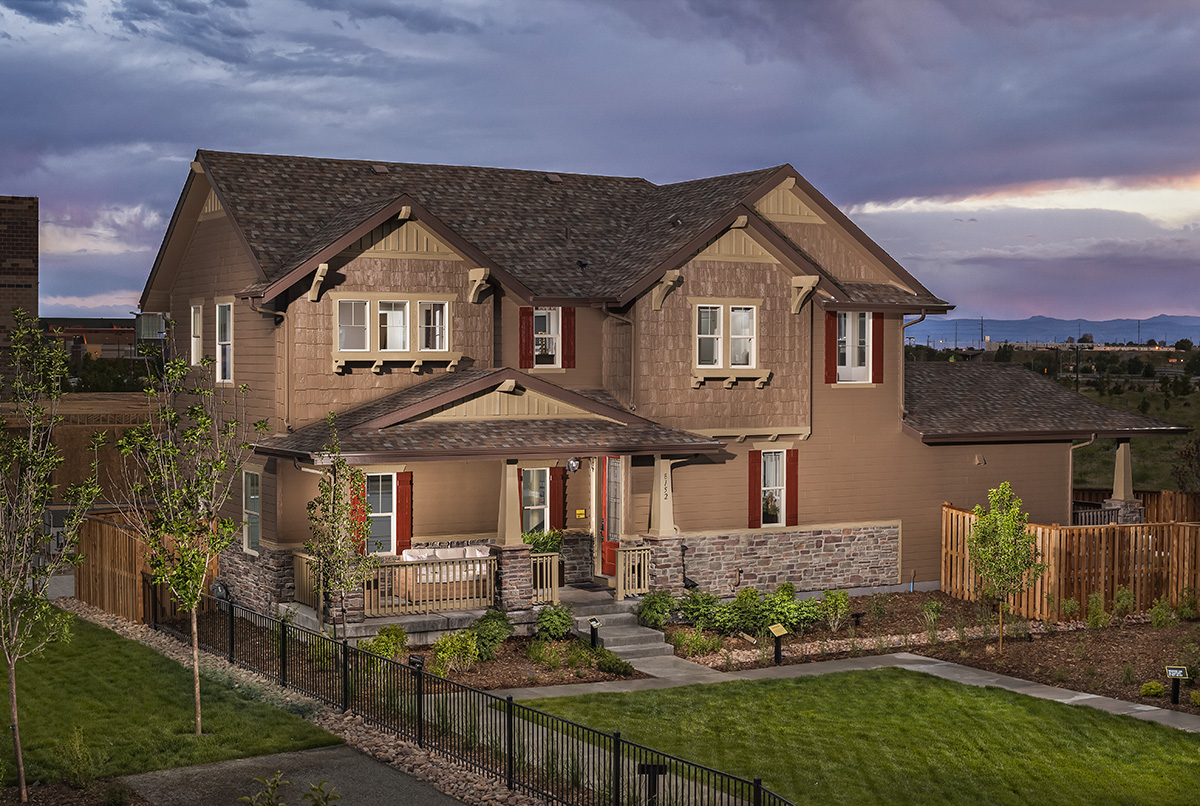KB Home Tallgrass Collection of new homes in Stapleton