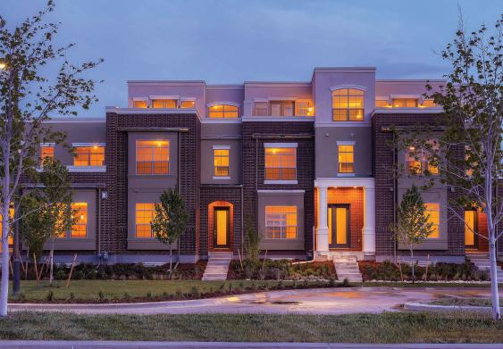 Wonderland Terrace Collection new row homes in Denver