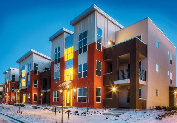 Botanica Eastbridge rental apartments in Denver
