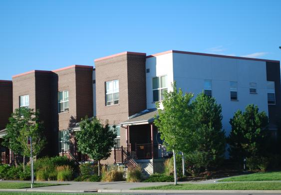 Affordable rentals by Northeast Denver Housing Central Park Apartments