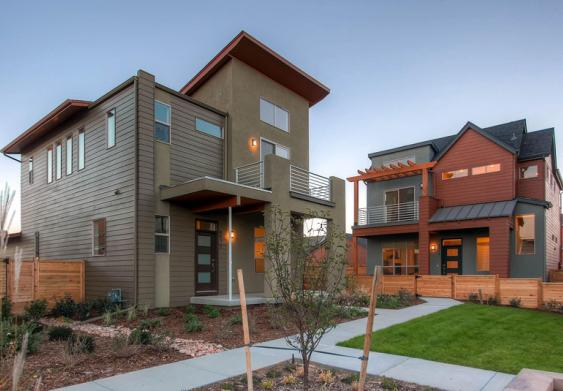 The Expressions collection of new homes in Denver