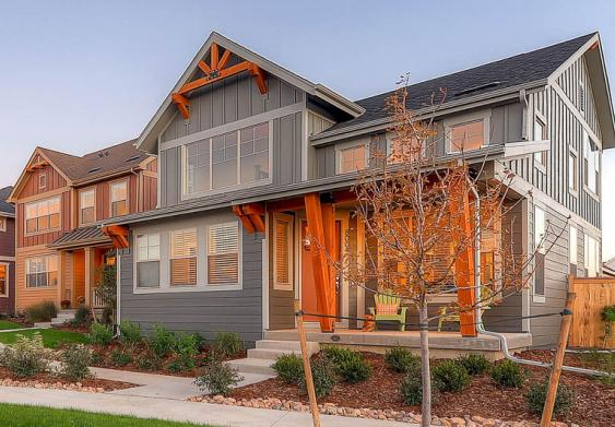 Heritage Collection of new homes in Denver