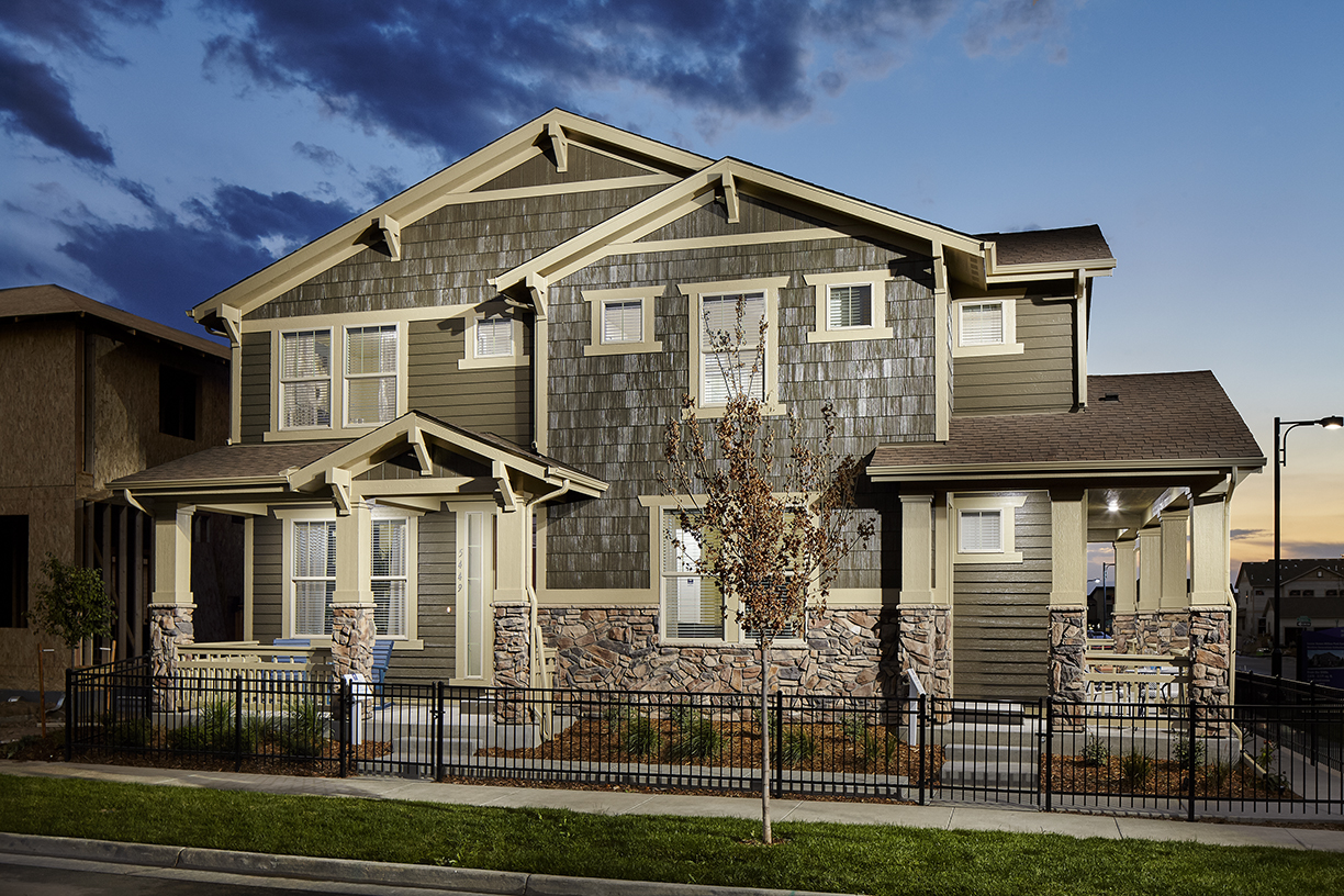Legacy Exterior-2 New Homes Available Denver, CO
