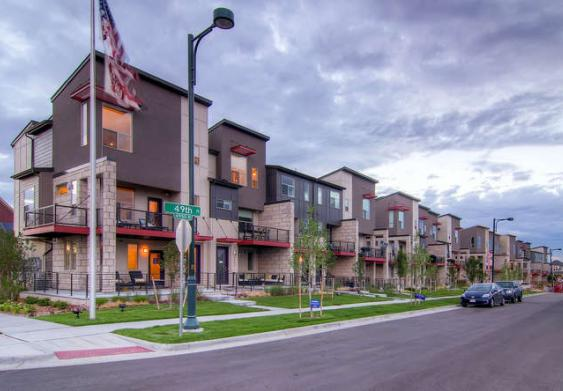 Central Park Rows new row homes in Denver income qualified