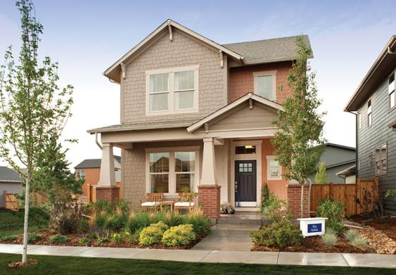 Cottages Collection by David Weekley new homes in Denver