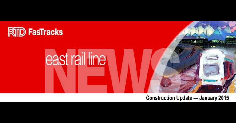 RTD East Rail Update January 2014