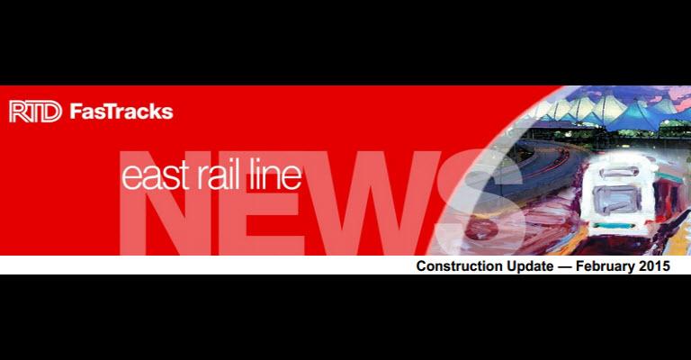 RTD East Rail Line News