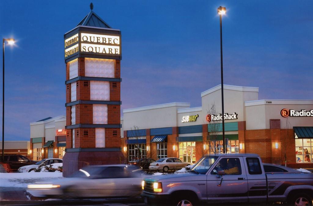 Quebec Square Retail in Stapleton