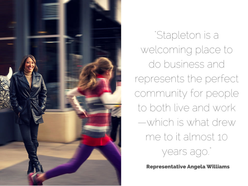 Faces of Stapleton Representative Angela Williams