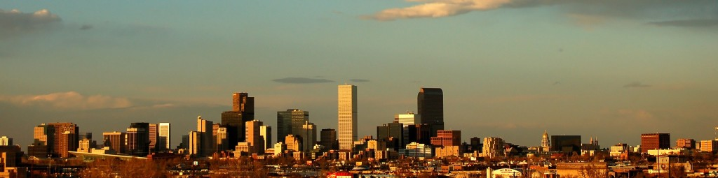Denver skyline header
