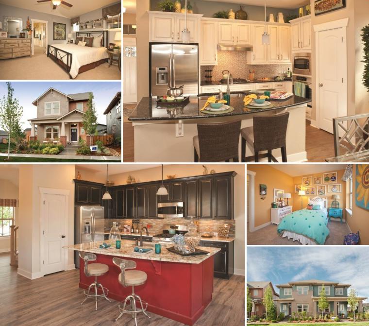 David Weekley Collage Builder Page Stapleton Denver