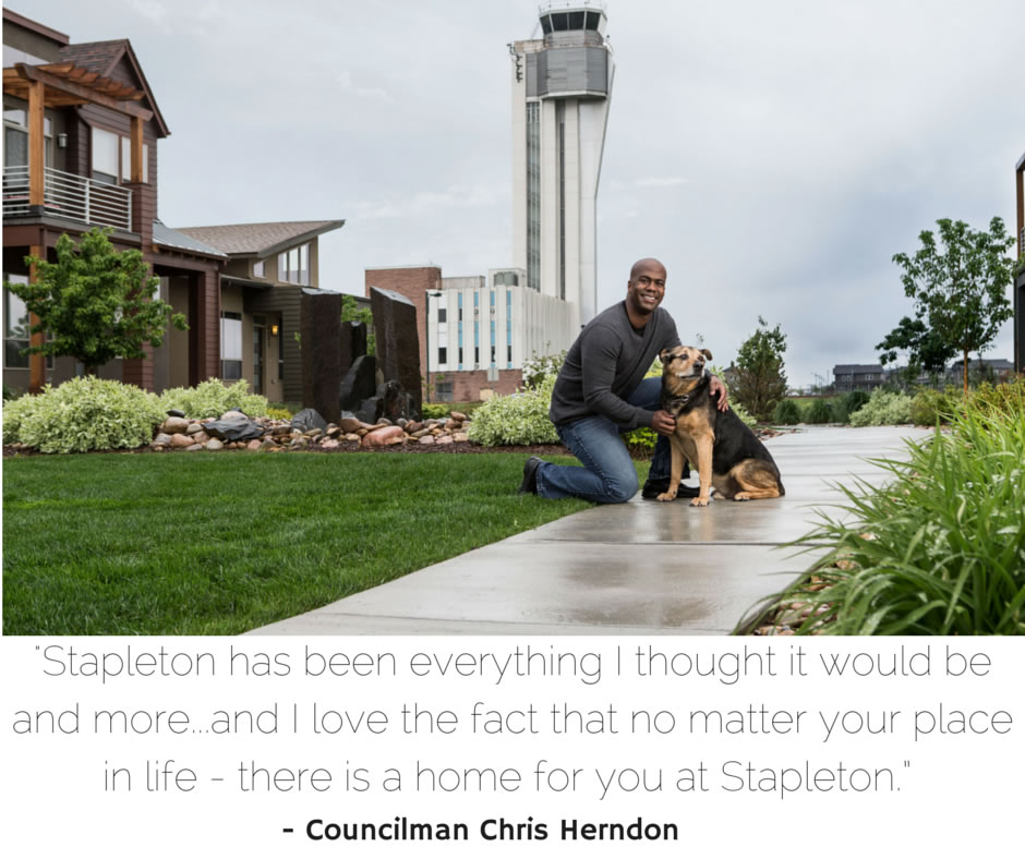 Faces of Stapleton Councilman Chris Herndon