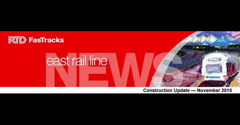 East rail line update