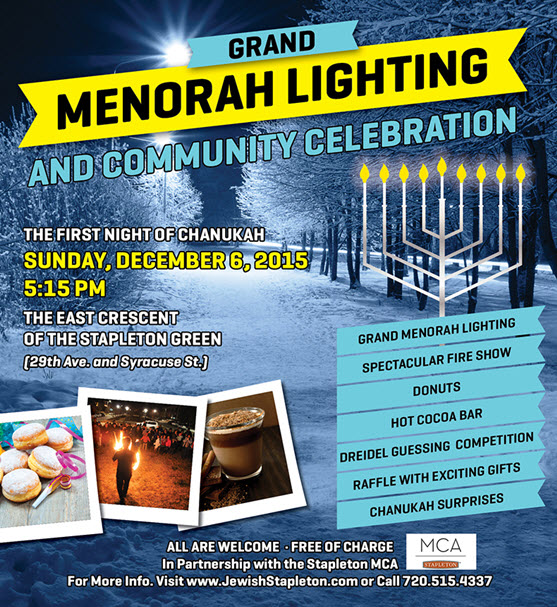 Grand Menorah Lighting Ceremony