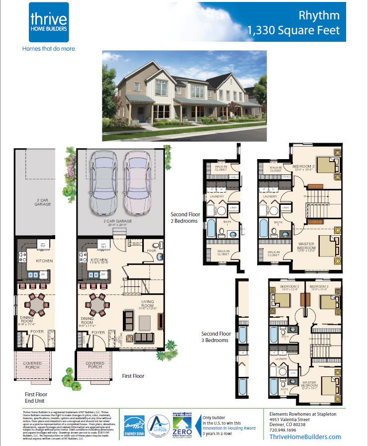 superb stapleton builders #6: Rhythm from Elements Collection by Thrive Home Builders in Denver, CO