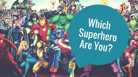 WHICH SUPERHERO ARE YOU-