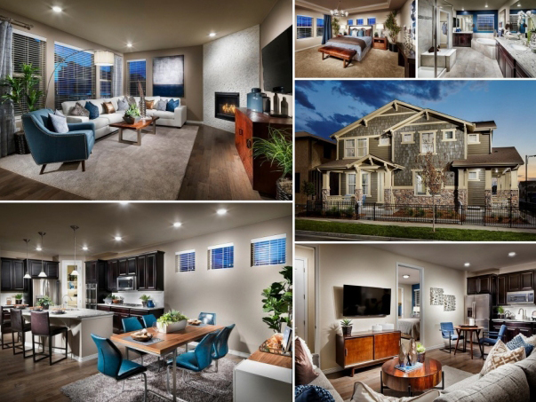 Lennar Builder Page Collage