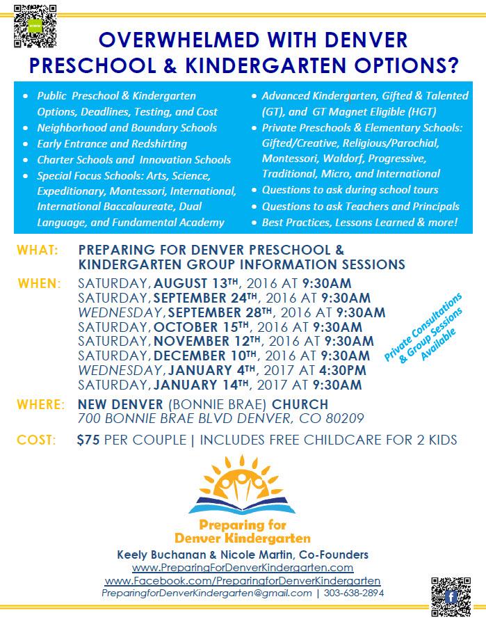 Overwhelmed with Preschool & Kindergarten Options?