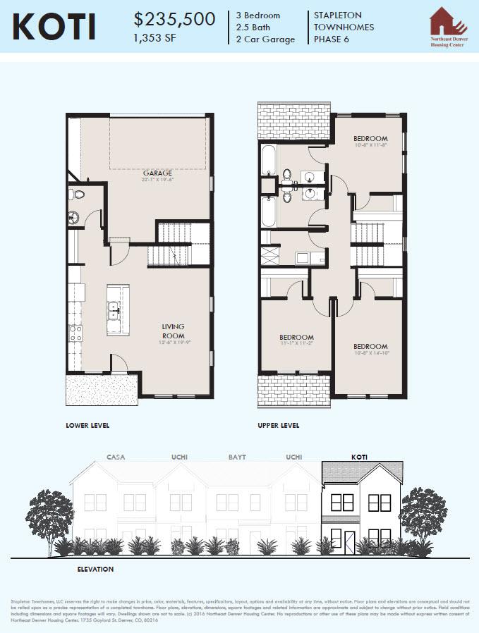 Spruce townhomes stapleton denver floorplans malvernweather Gallery