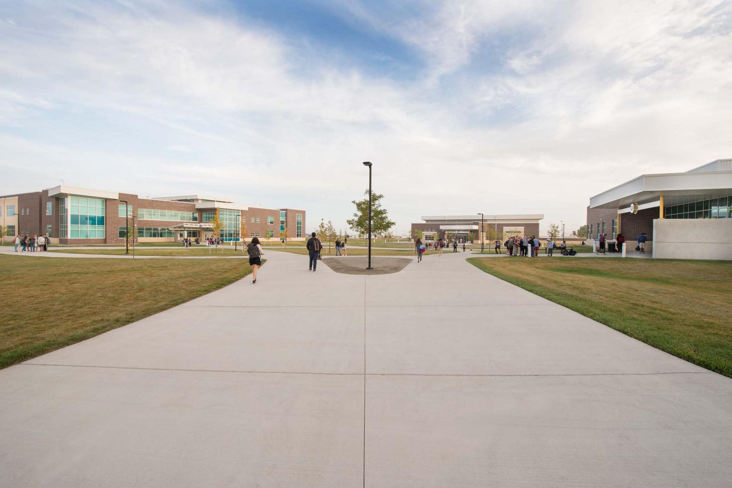 Denver public schools northfield high school loa for Stapleton builders