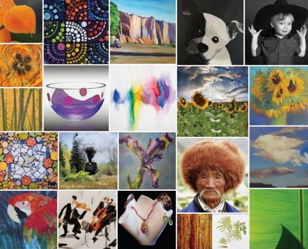 Open Studios Collage