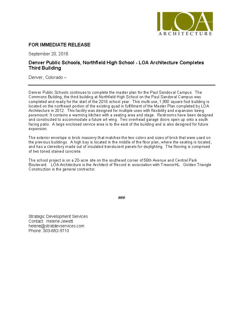 press-release-dps-loa-architecture-commons-building-completed-9-20-16