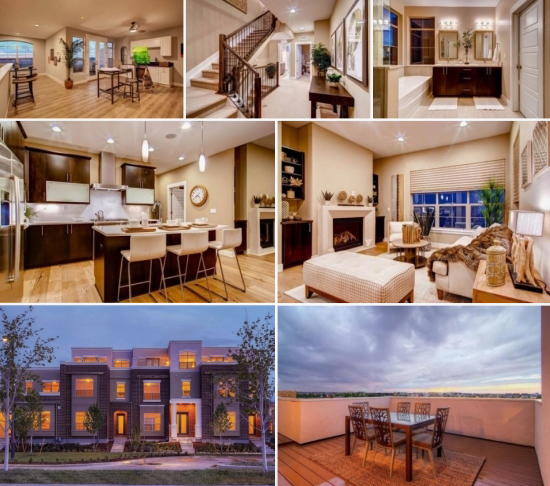 Wonderland homes terrace homes featured in denver post for Whats a terrace house