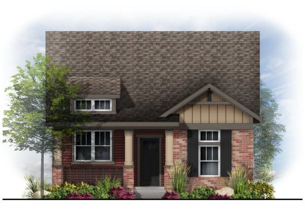 Possibilities series in Bluff Lake new homes in Aurora