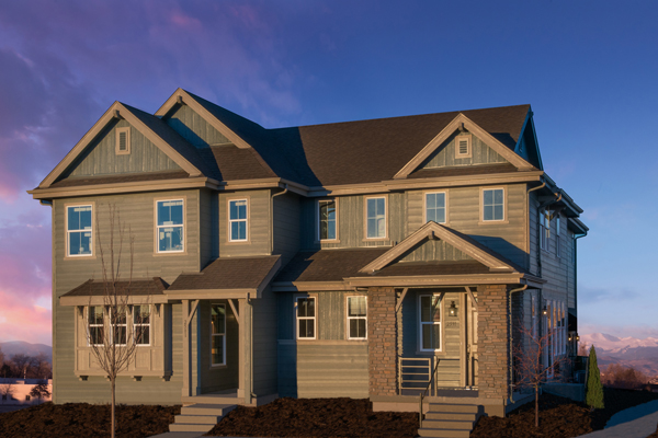 KB Home in Bluff Lake new homes in Aurora
