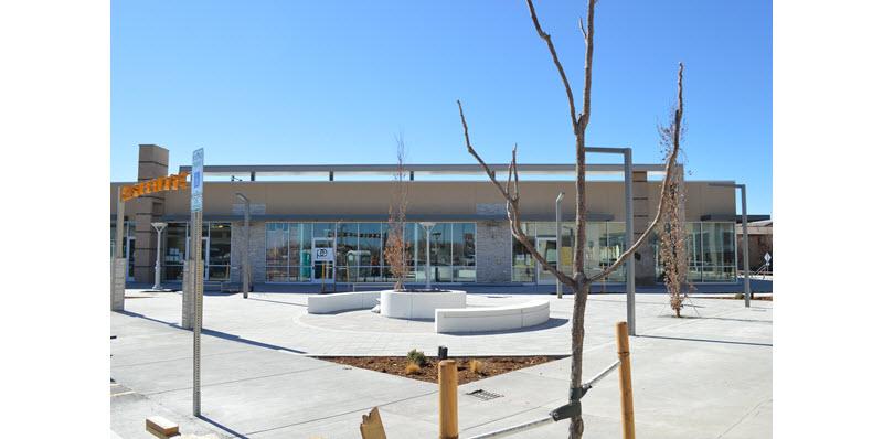Eastbridge town center in Denver