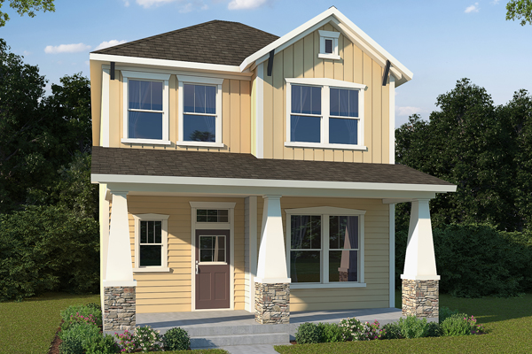 David Weekley new homes in Denver