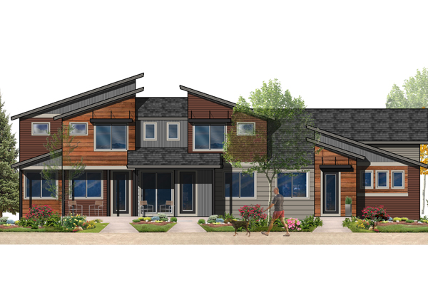 Wonderland Homes Prospect Townhomes