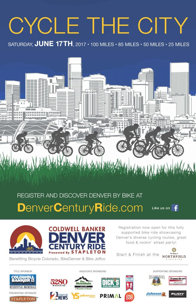 Final Poster Denver Century Ride