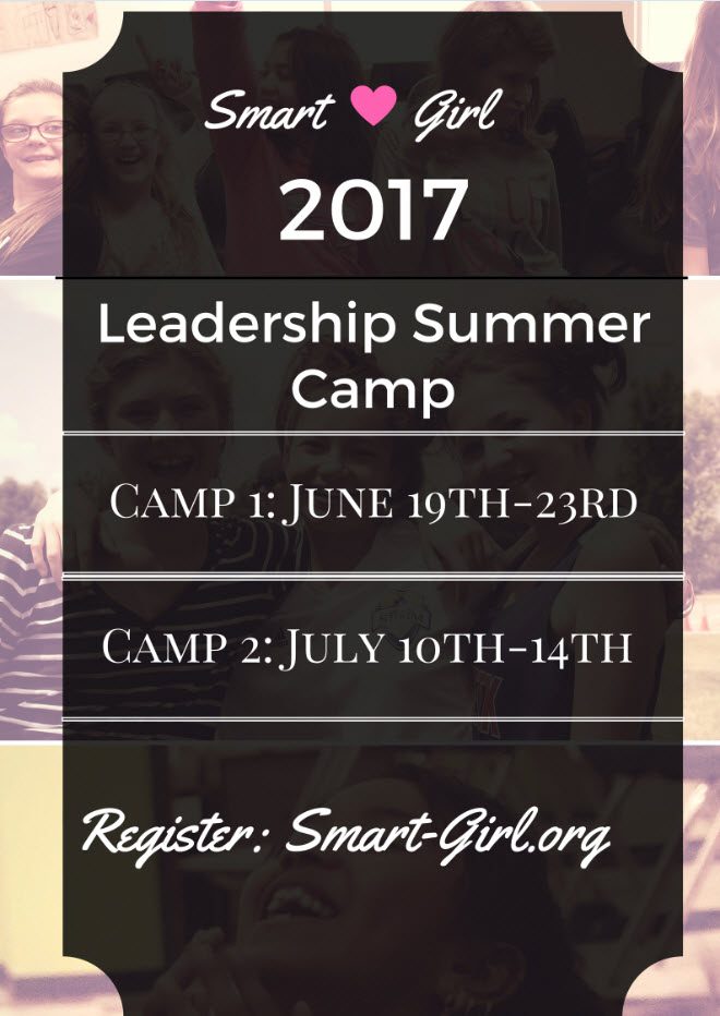 Smart Girl 2017 Leadership Summer Camp in Denver, CO