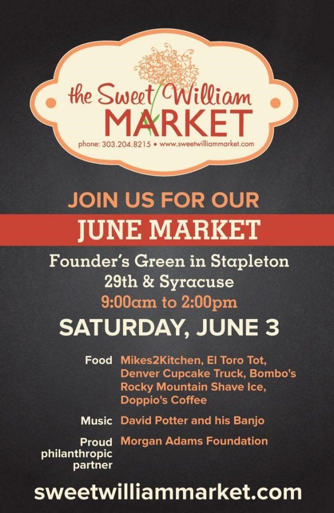 Sweet William Market June 3