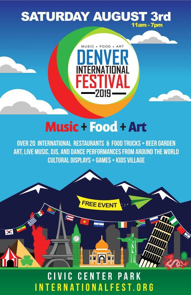 Denver International Festival flyer