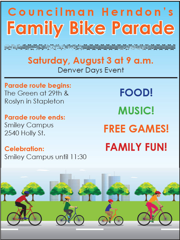Herndon Family Bike Parade2019