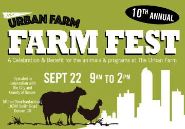 Urban Farm Fest 2019 Banner