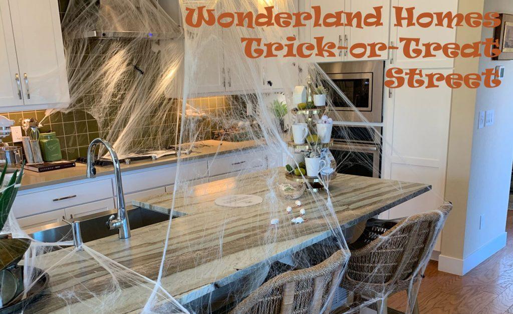 Wonderland Homes Trick or Treat Street