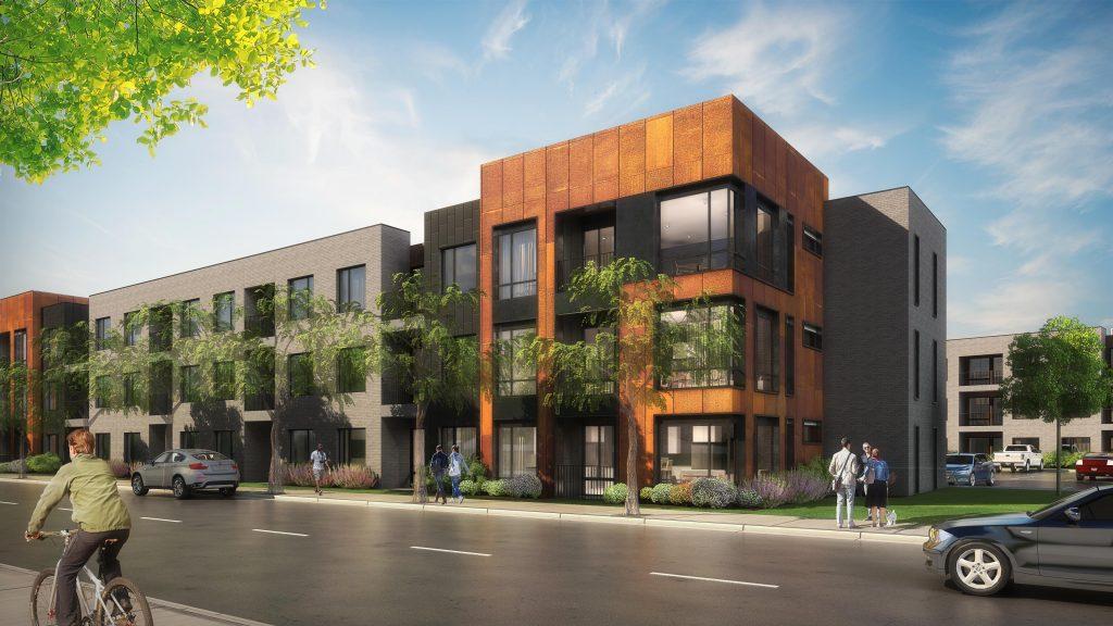 Central Park Urban Living Condos NE Denver Housing Rendering web