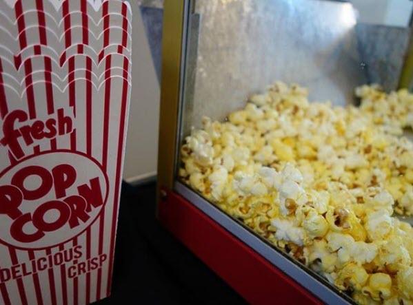 Popcorn and popcorn buckets