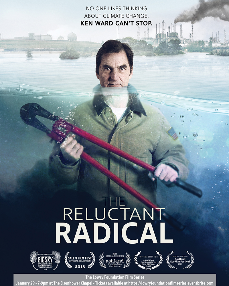Reluctant Radical poster Lowry Film Series