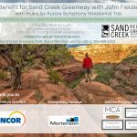 Benefit for Sand Creek Greenway with John Fielder