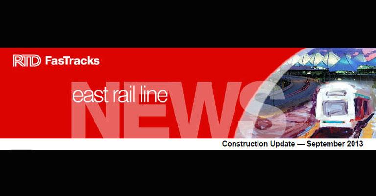 East Rail Line Header