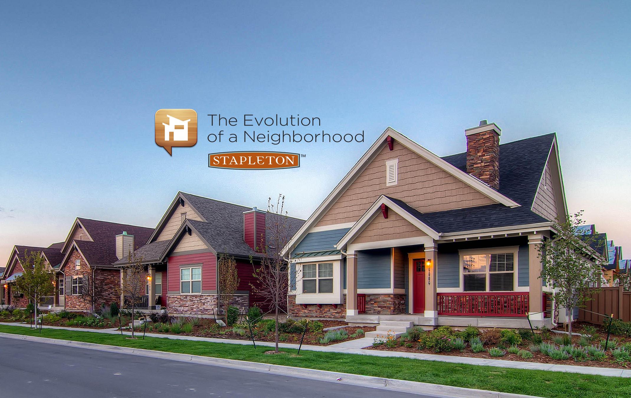 Evolution of a Neighborhood Boulder Creek Stapleton