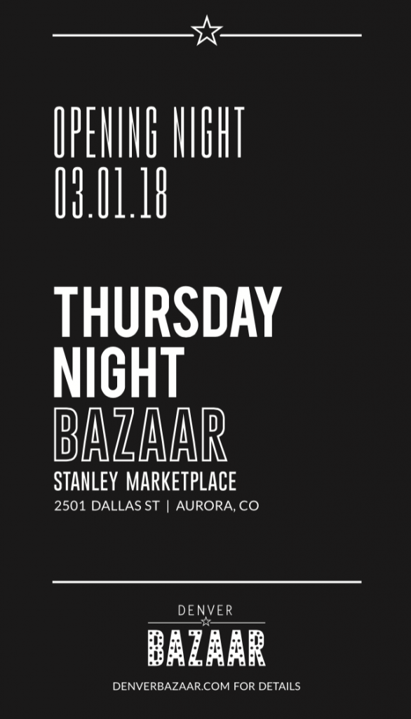 Thursday Night Bazaar in Aurora, CO