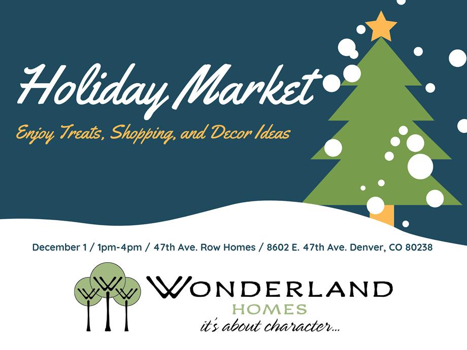 Holiday Market Blog
