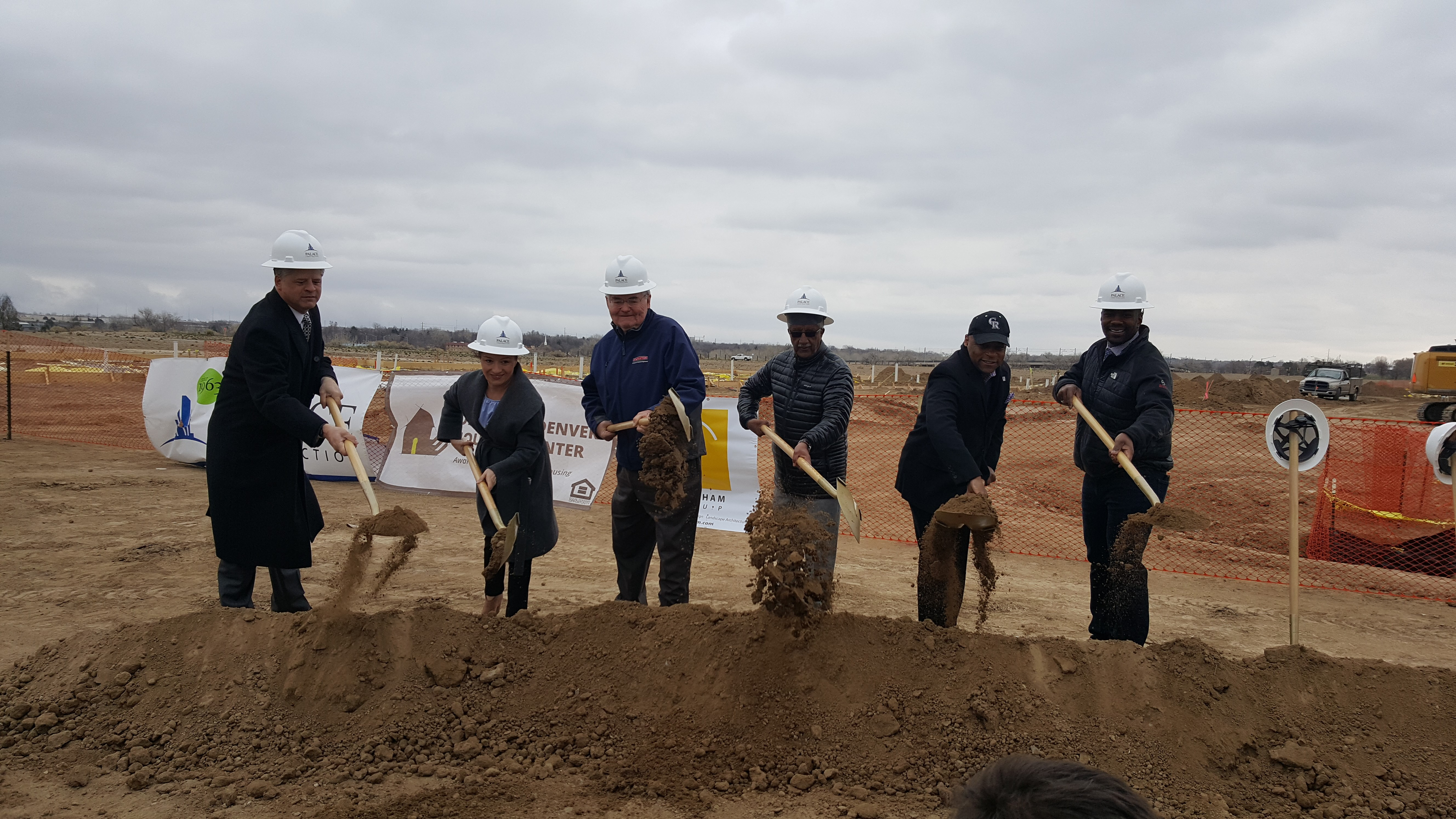Ground Breaking for Moline @ Stapleton Income-Restricted Apartments